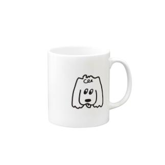 コッカースパニエル Mugs