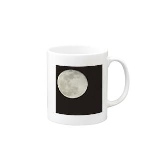 La lune Mugs