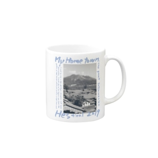 my_home_town_k5_photo Mugs