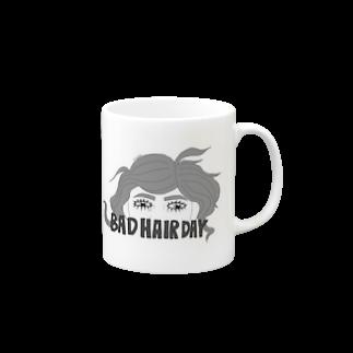 Matt48のBAD HAIR DAY Mugs