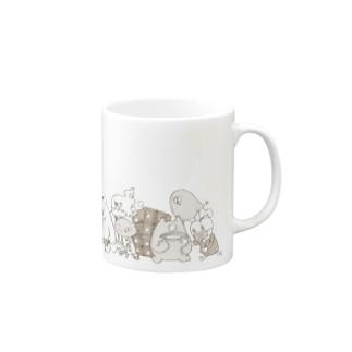 グッグリーフ! セピア Mugs