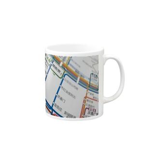 杭州路線図 Mugs