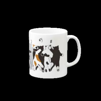 Peshitanのにゃかま(仲間)マグカップ Mugs