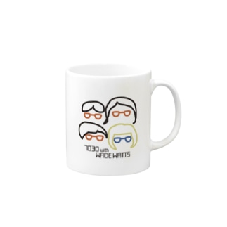 7030 with WWグッズ Mugs