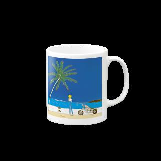kenny'sのon the beach Mugs