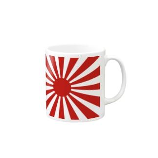 【大和魂!】旧旭日旗グッズ Mugs