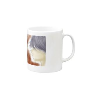 横顔 Mugs