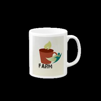 j&yshopのfarmマンのナチュシリーズ Mugs