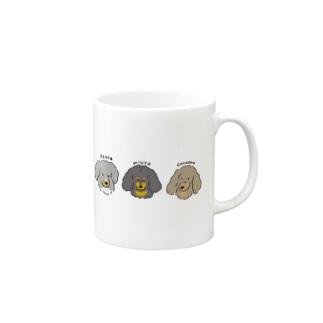 みうた&れんた&ちはな Mugs