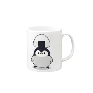 心くばりペンギン / おにぎりver. Mugs