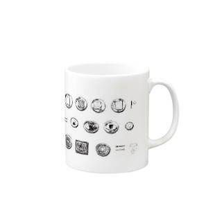 3食 Mugs
