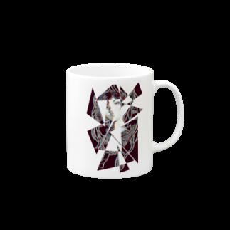 眠田ねむ蔵の分裂 Mugs