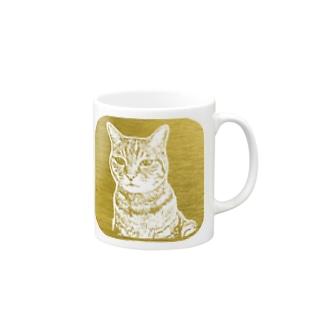 ちょび 金色 Mugs