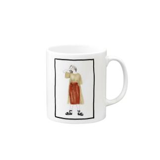 いいオンナ Mugs