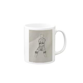 バレー部 Mugs