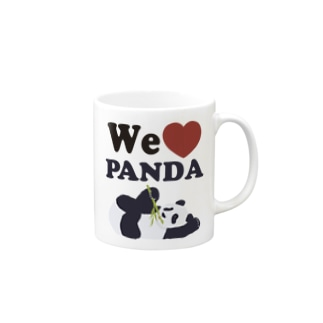 we love パンダ Mug