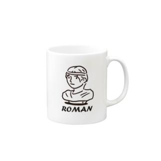 ローマンセッコウゾウ Mugs
