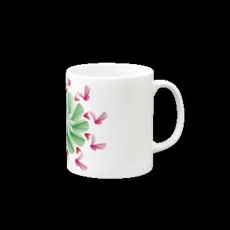 Miracke Happy Bareのバード Mugs