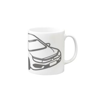 HONDA CIVIC SEDAN 風 Mugs