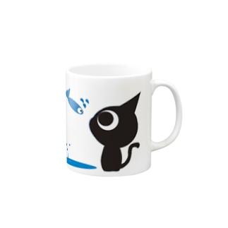 魚の夢〜ネコトビツクリトボク〜 Mugs