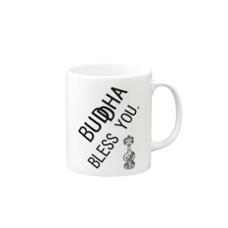 BUDDHA BLESS YOU Mugs