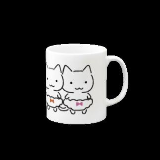 ねこぱんつの三色ぱんつ Mugs
