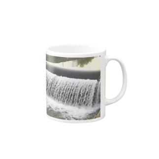 水路の流れのように… Mugs