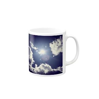 ブルースカイ Mugs
