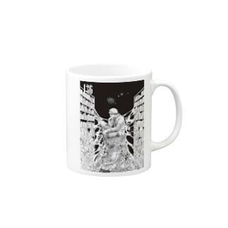 136-BW-Y Mugs