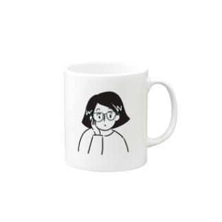 GWちゃん(白Tver) Mugs