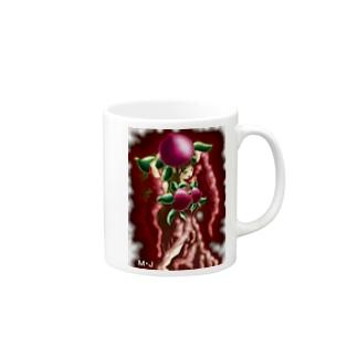 桃の女王様 Mugs
