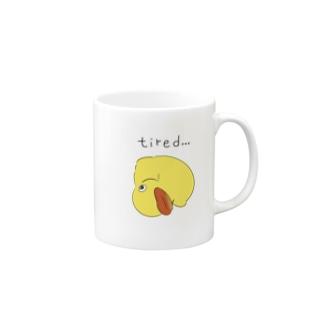 アヒルのおもちゃ Mugs