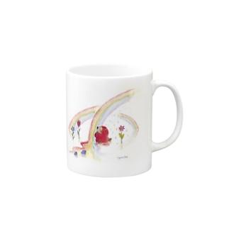 甘い虹 Mugs