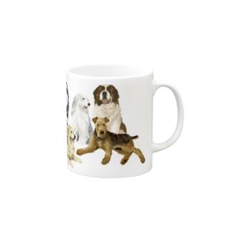 大きい犬たち Mugs
