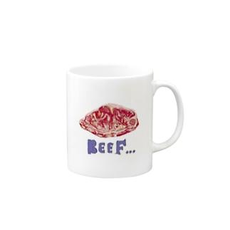 ビーフ Mugs