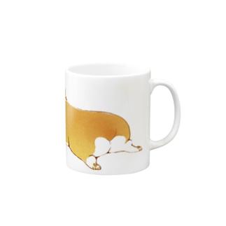 コーギー Mugs