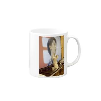 ニャーニャーΣ≡Σ≡Σ≡Σ≡L(Φ□ΦL) Mugs