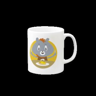 Wooofyのいただきま〜す!マグカップ