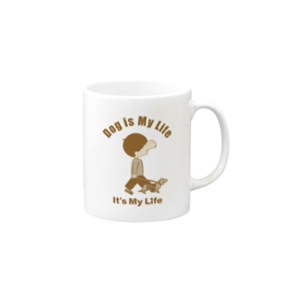 lovebitのIt's My Life / Boy:Dog Mugs