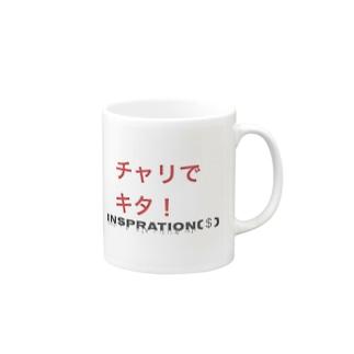 チャリで Mugs