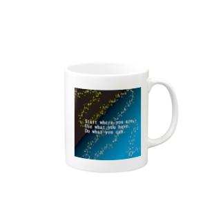 天の川 Mugs