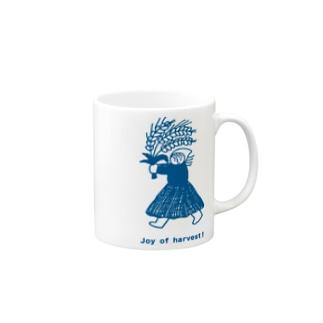 Joy of harvest! Mugs