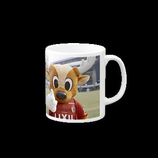 gambaosakaの鹿島アントラーズ Mugs