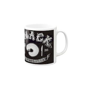 幼虫ロゴ Mugs