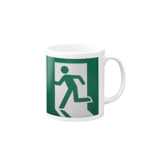 非常口(実写版) Mugs