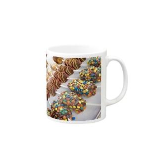 トレンドショットのチョコマシュマロ Mugs