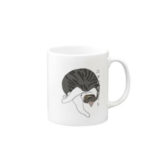 ニャンモナイト Mugs