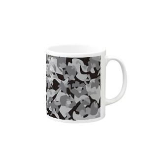 InspirationSの迷彩 Mugs