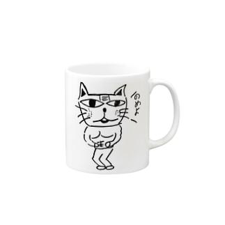 マッチョネコみたいなやつ Mugs