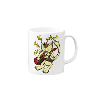 ROCKネコ(='x'=) Mugs